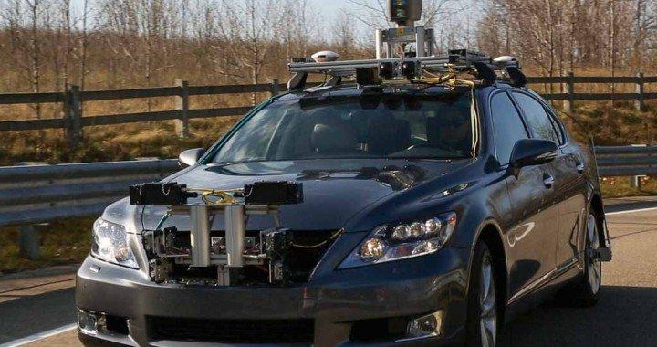 Toyota autonomous driving concept car