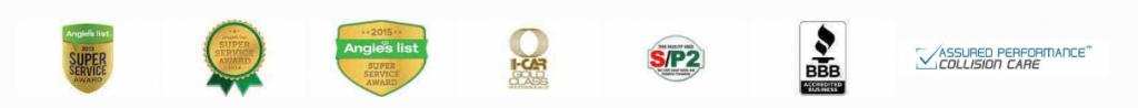 Auto Body Shop Repair Awards