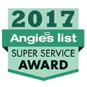 angie's list 2017 super service award badge