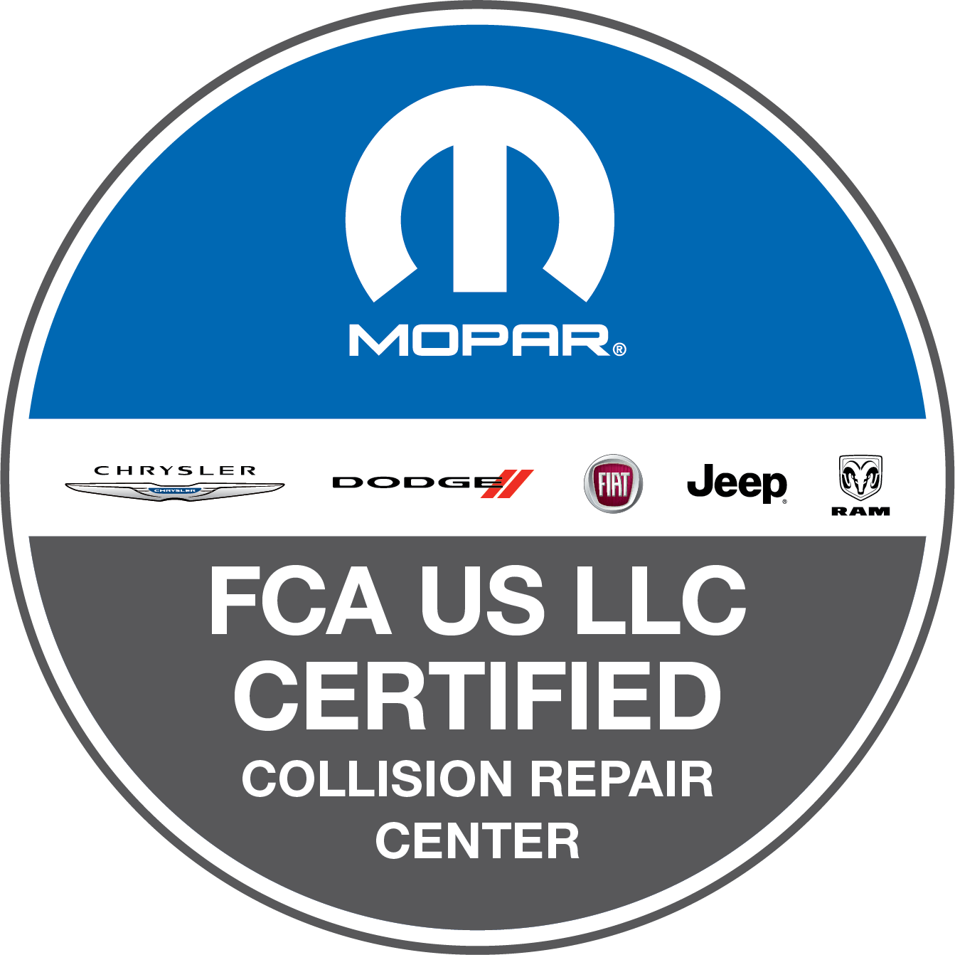 mopar recognized certified collision repair facility