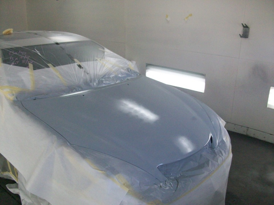 Lexus Body Shop Before and After Photo
