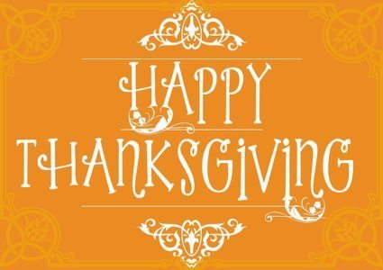 happy thanksgiving day from airpark collision!