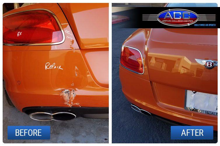 Auto Body Plastic Repair in Scottsdale