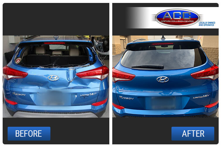 Image of Hyundai Repair - Before and After
