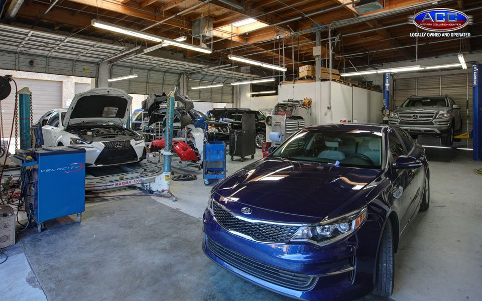 Inside the Auto Body Shop in Scottsdale