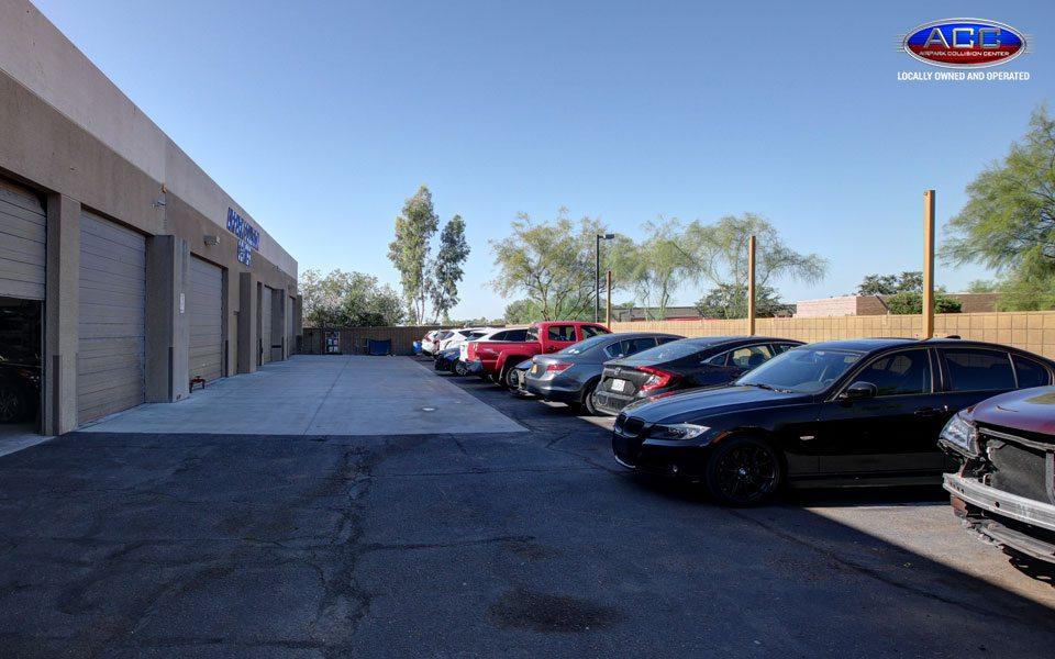 Arizona Body Shop Parking Spots