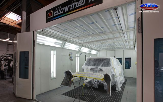 Airpark Collision Center Paint Booth