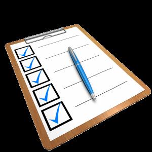 Auto Body Repair Checklist