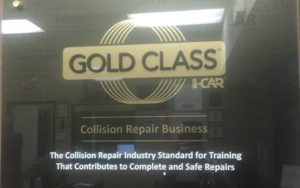 I-Car Gold Certified Collision Repair Center